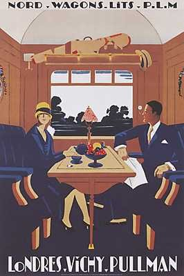 affiche_londres_vichy_pullman