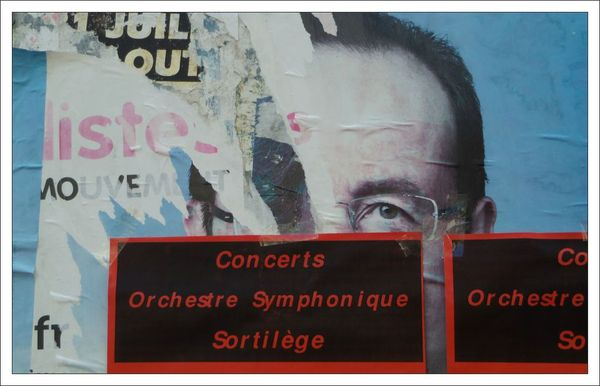 affiche Hollande sortilege 072012