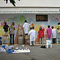 F - Fresques murales école primaire Thème : le voyage