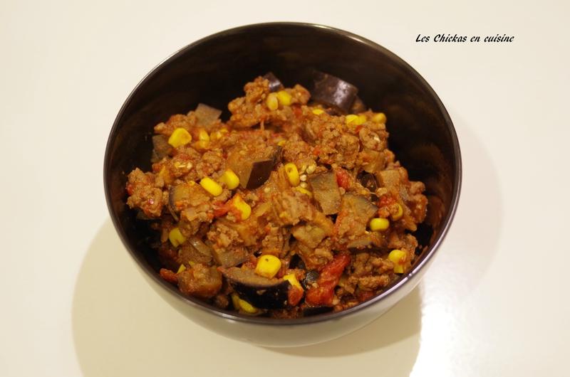 Aubergine façon chili con carne (6)