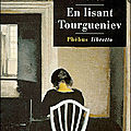 En lisant tourgueniev ---- william trevor