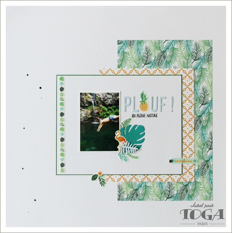 80 - Plouf! - page Toga Collection Color Jungle - DT Aurel (1)