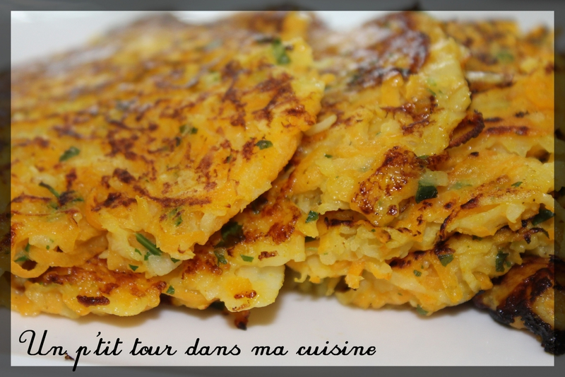 Galettes courge2
