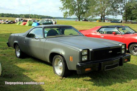 Chevrolet el camino de 1977 (Retro Meus Auto Madine 2012) 01