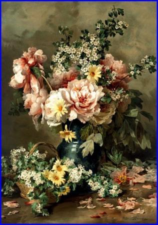 nature morte François Rivoire 1842-1919 A