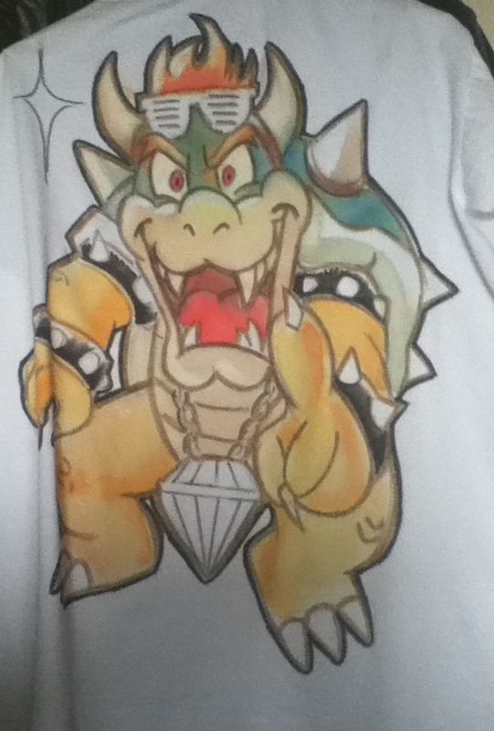 T-SHIRT CUSTOM KOOPA BOWSER
