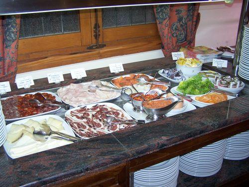 Santo Domingo de la Calzada-parador et petit-déjeuner buffet