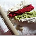Petit matériel pour s'initier à la tapisserie - Marimerveille