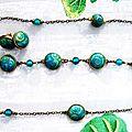 mokume turquoise