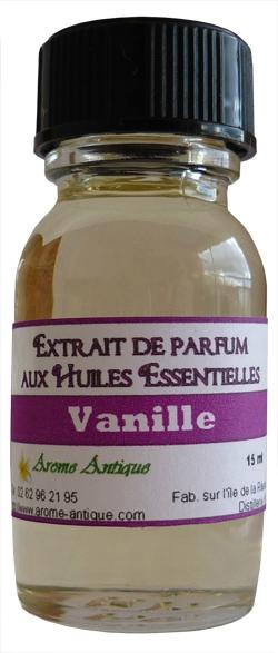 extrait de parfum vanille perfume extract vanilla huiles essentielles de qualit. Black Bedroom Furniture Sets. Home Design Ideas