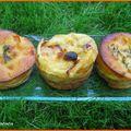 Trilogie de mini clafoutis au lait de soja
