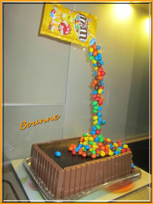Gravity cake ou gâteau suspendu (8)