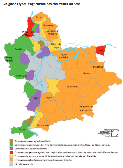 de l'Agriculture dans le Velin : maraîchage à Vaulx
