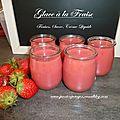 glace à la fraise - fraises de mon potager www.passionpotager.canalblog.com