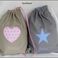 sacs couleur galet et couleur taupe