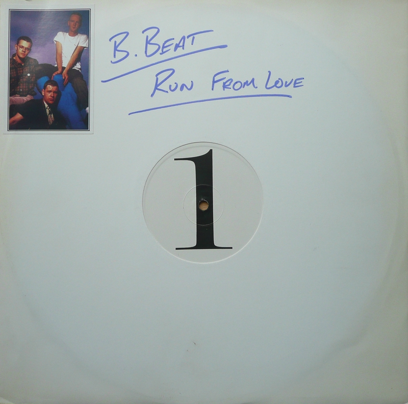Run From Love 12'' UK test pressing