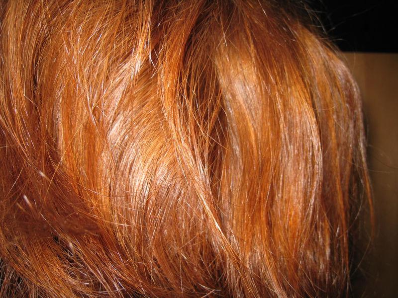 Masque naturel cheveux rouge