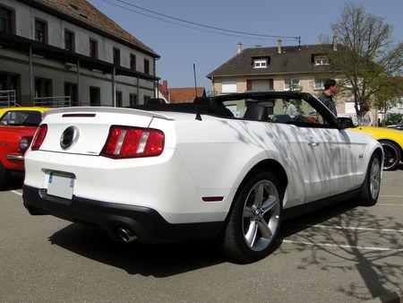 FORD Mustang GT 5,0 Convertible 2011 Bourse d'Echanges Auto-Moto de Châtenois 2011 2