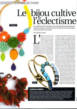 fashion daily news janvier 13