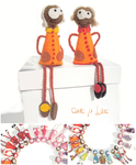 broche_fantaisie_ bijoux feutrine_bijoux laine_collection orange_damelalune_shop