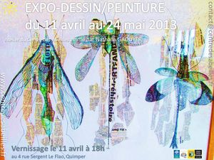 Expo Atelier Arts plastique adultes 2013