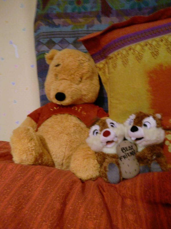 Winnie, Tic & Tac