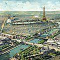 Vue générale de l'Exposition Universelle de 1900