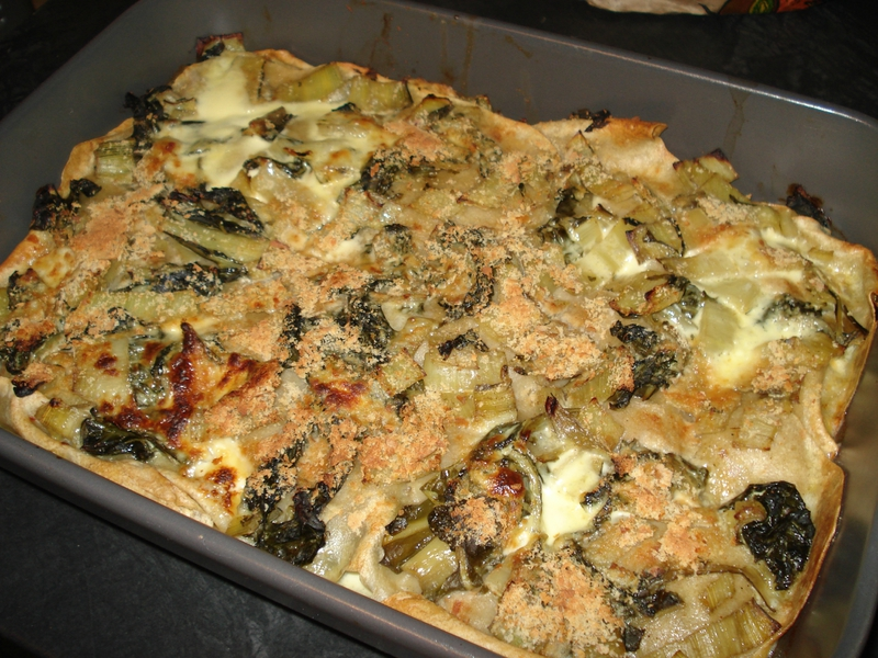 lasagne maison aux blettes bio et cr 232 me fra 238 che 233 paisse partie 2 cuisine v 233 g 233 tarienne bio