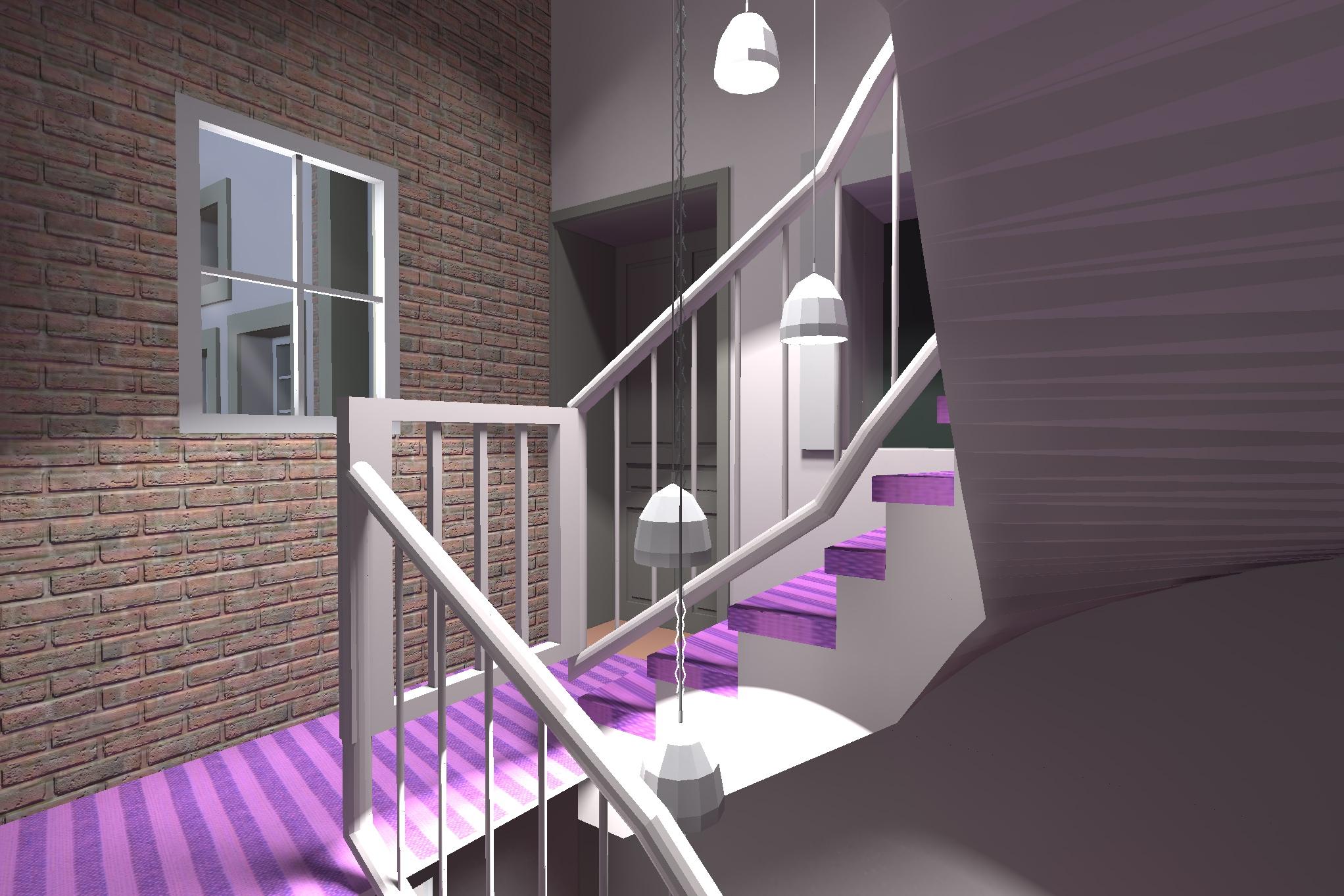 Mise en valeur des escaliers 2