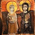 L'icône de jésus et son ami