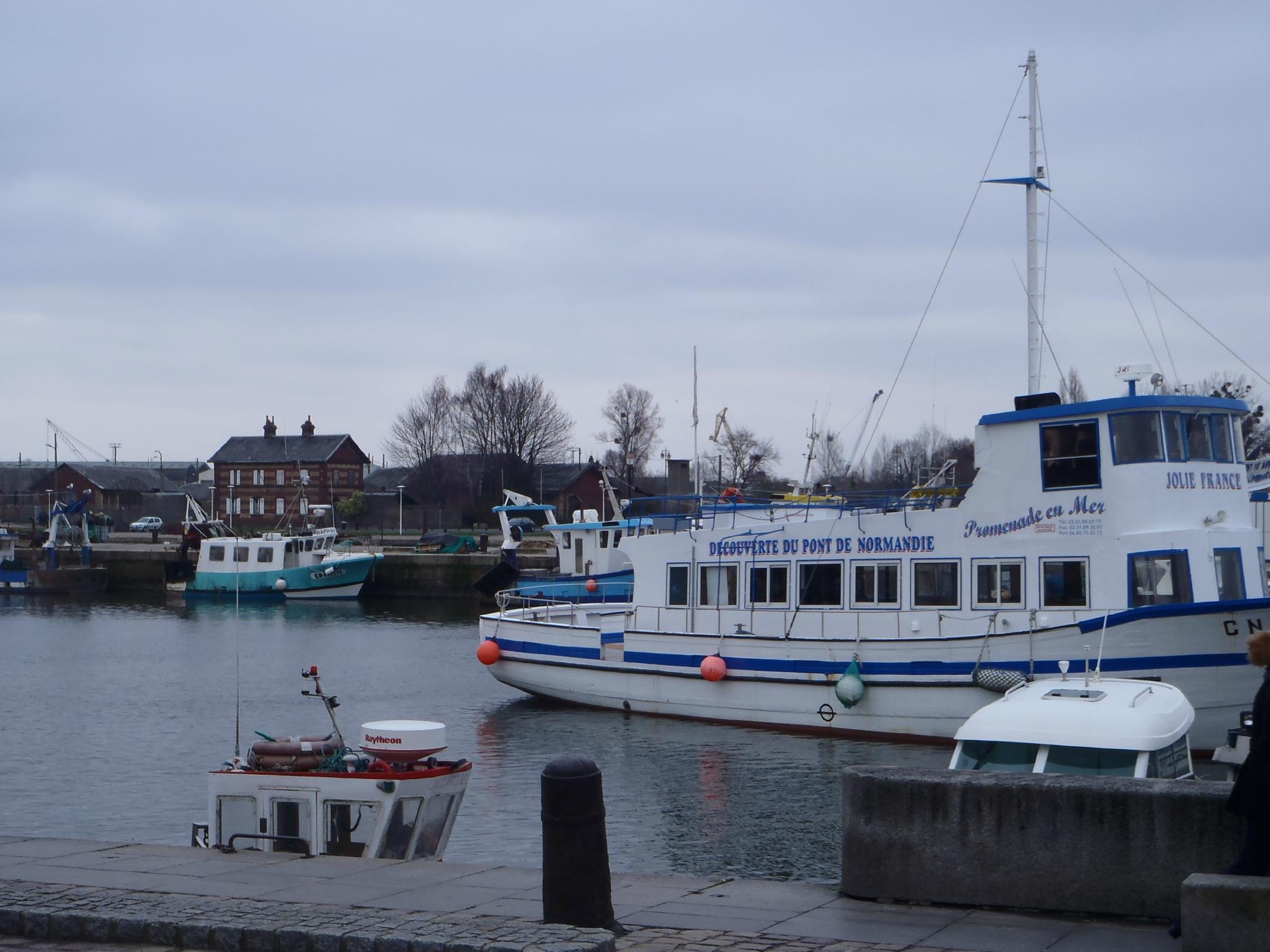 bateau de pêche carré honfleur