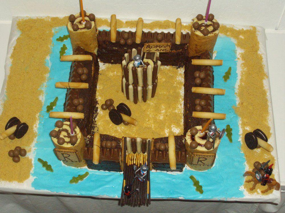 Gâteau château-fort