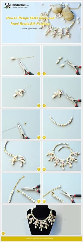 How-to-Design-Shell-Chips-and-Pearl-Beads-Bib-Necklace