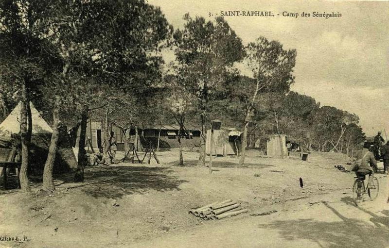Saint)-Raphaël camp Sénégalais