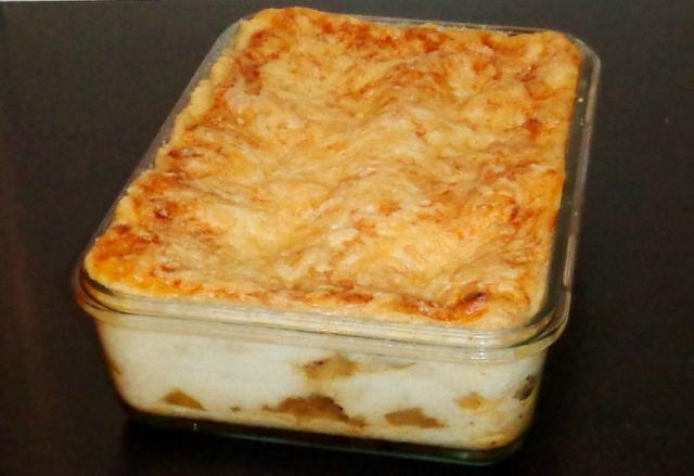 Lasagne endives, jambon, maroilles