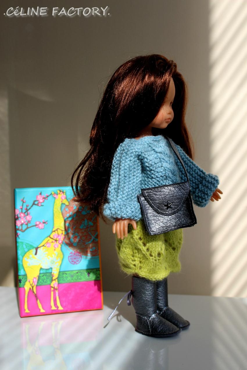 Chérie - Pull et jupe en laine 2