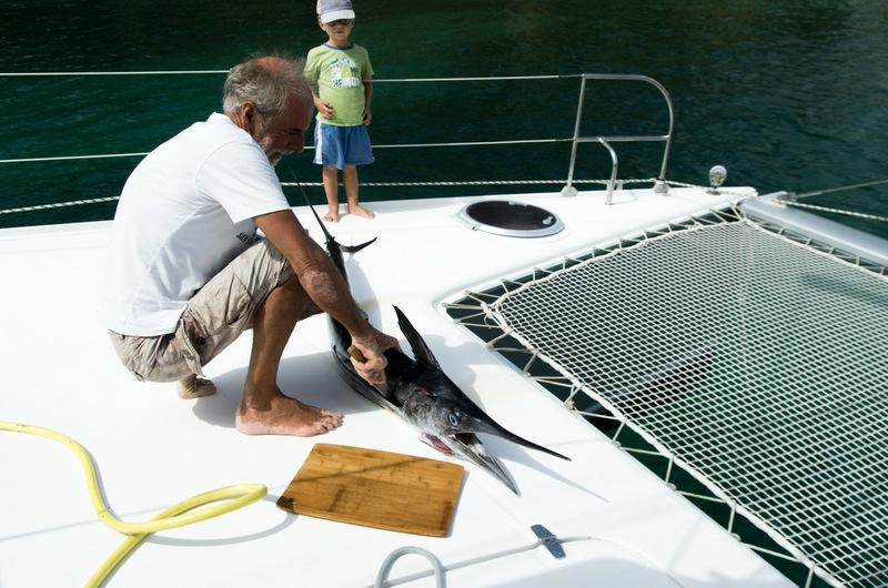 Catamaran Grenadines partie 1-26