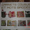Carnets cousus...
