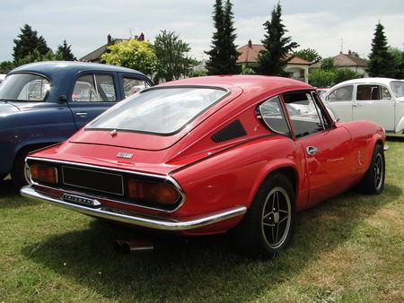 TRIUMPH GT6 Mk III 1970 1973 Broc aux Tacots de Richwiller 2010 2