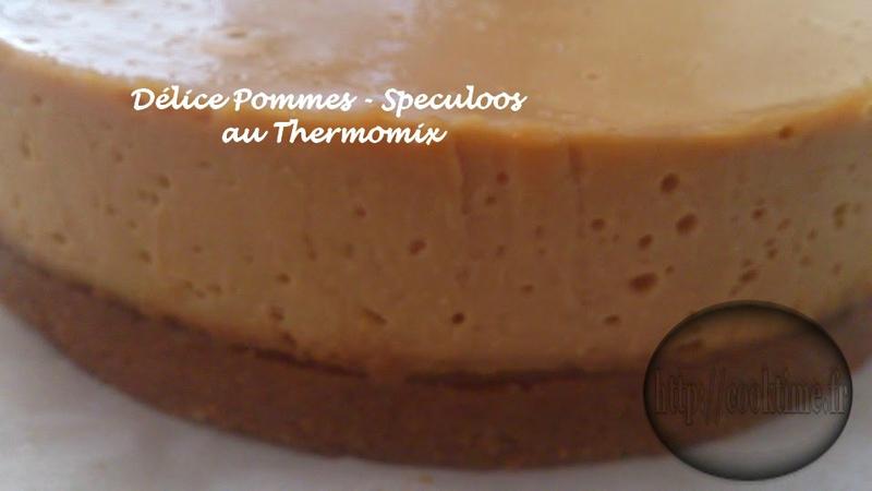 Delice pommes speculoos thermomix 9