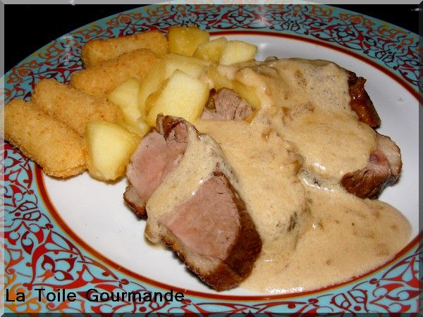 Magret de canard au cidre normand la toile gourmande mais simple - Cuisiner un magret de canard au four ...
