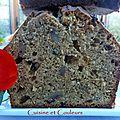 Cake à la compote de pommes sauvages, au sucre complet & aux noix