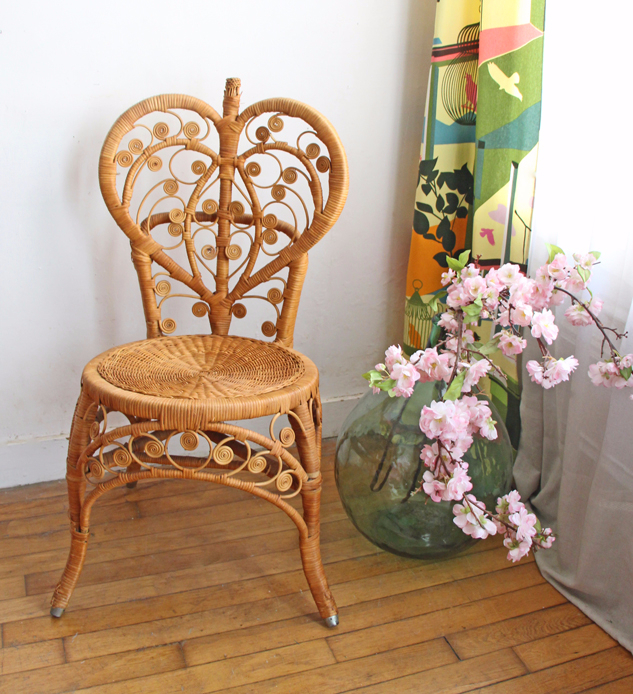 chaise-rotin-vintage