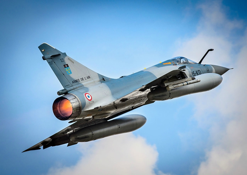 French_Air_Force_Dassault_Mirage_2000C_take_off_from_RAF_Brize_Norton