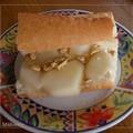 Sandwich poires / brie / miel