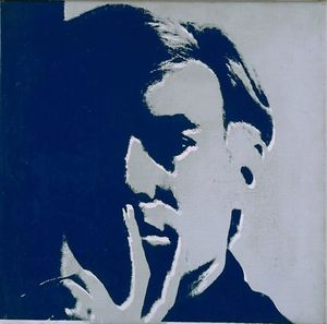Warhol, 1966, Selfportrait copie