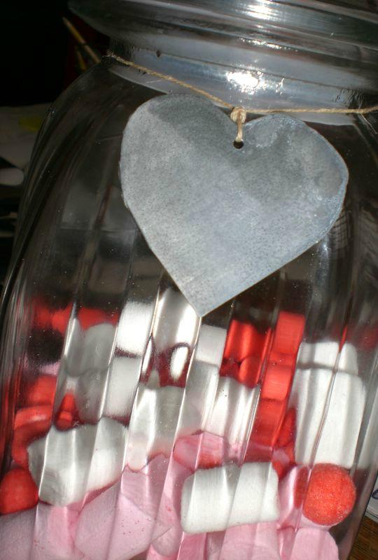 Etiquette coeur en zinc (2)