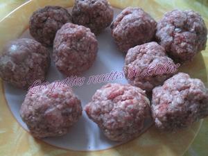 Riz aux boulettes de viandes11