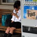'Fire' girl