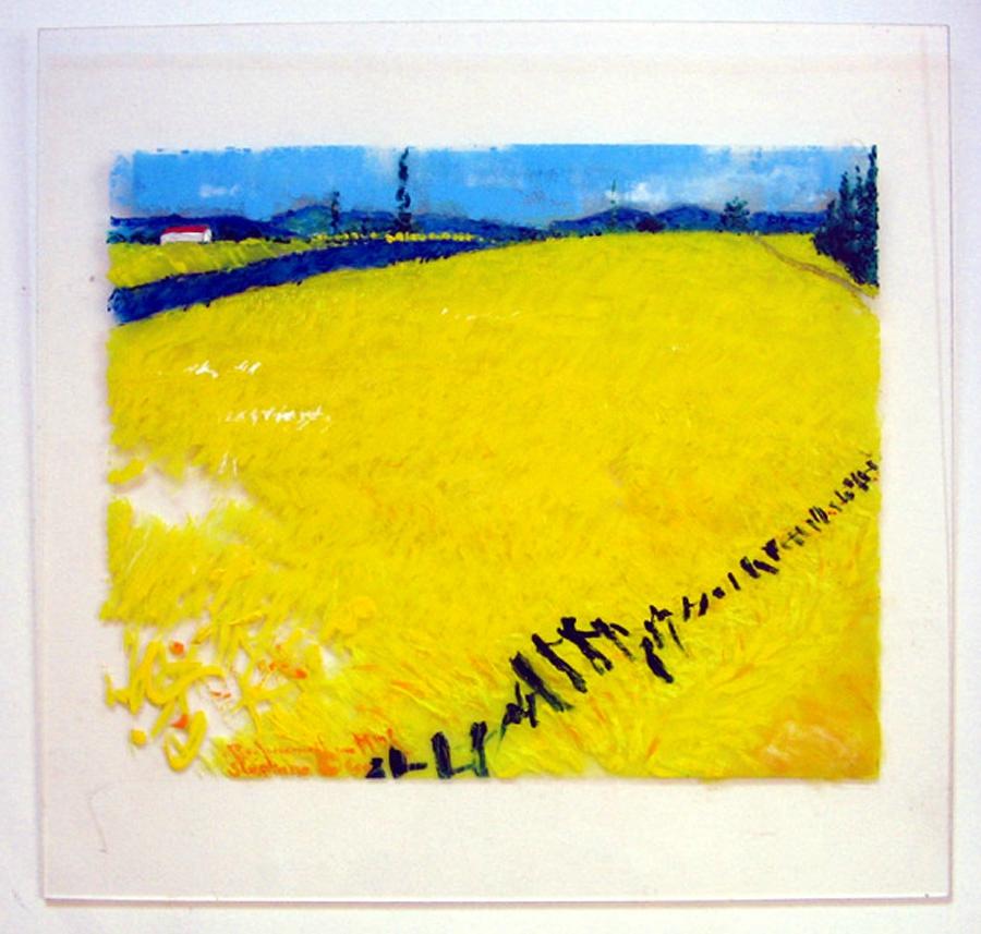 Champs de blé d'après Van Gogh